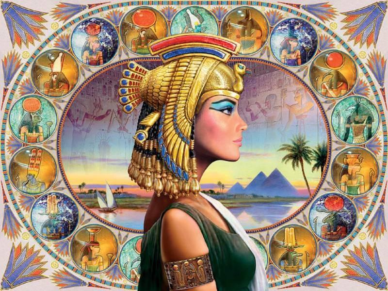 Египетский гороскоп в картинках