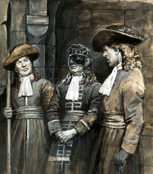 What really happened?: Prisoner in an Iron Mask